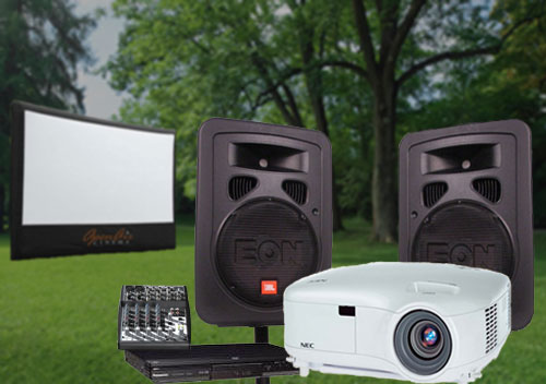 Hire Projector, Screen, PA System from Sight&Sound