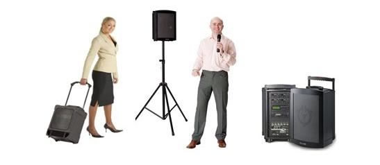 Pa system Ireland, public address system,portable PA, Installation PA