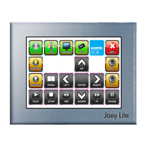 Room Control Wall Mounted Panel, JoeyLite by CommBox