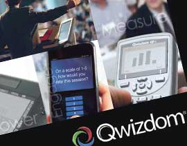 Audience Response, Clickers, Qwizdom Hire Ireland