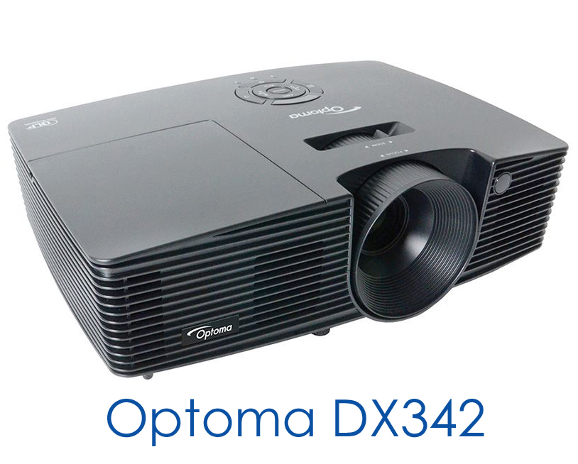 Sight sound portable projectors optoma dx342 for Best pocket projector for presentations