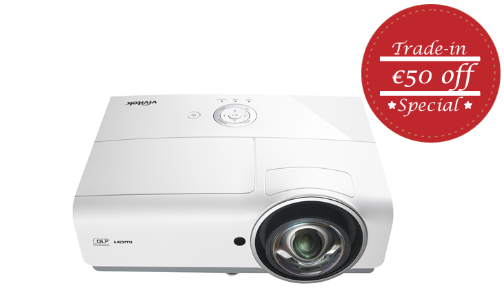 Vivitek DX881ST Short Throw Projector