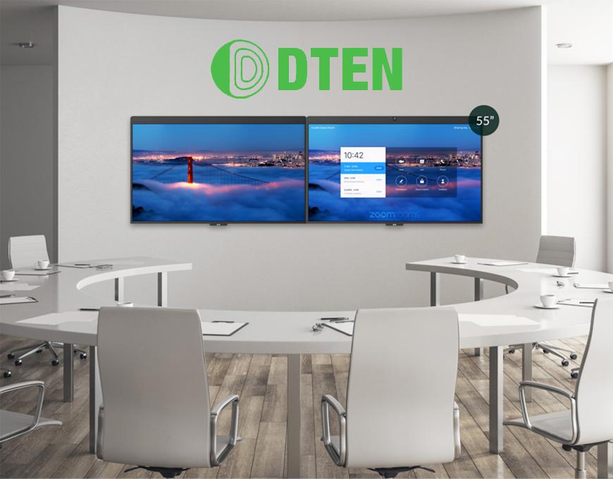 DTEN Dual Monitor Zoom Room