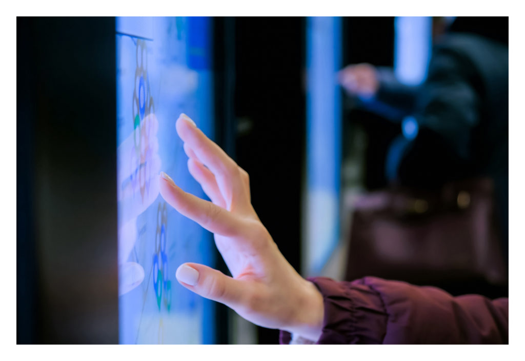 interactive displays for education